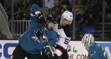 new products 0ef26 ace44 New Jersey Devils vs. San Jose Sharks: LIVE score updates ...
