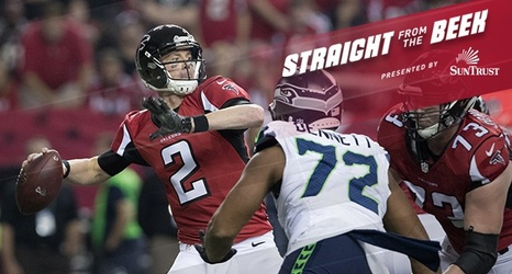falcons fans ask about the running back situation russell wilson