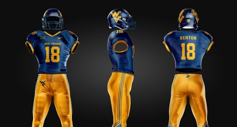 Re Imagining Mountaineers Football Uniforms Before