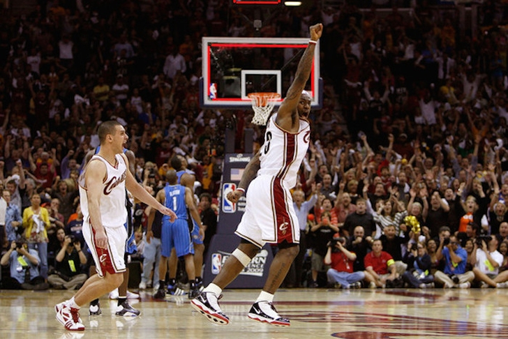 LeBron James' 4 Best Playoff Games As A Cleveland Cavalier