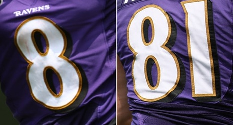 on sale 8eee1 ab8b9 Ravens Hand Out Jersey Numbers to First-Round Picks