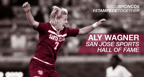Aly Wagner To Be Inducted to San Jose Sports Hall of Fame