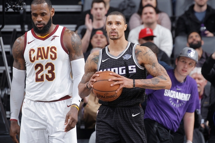 Cavs, Kings Discussing George Hill Trade