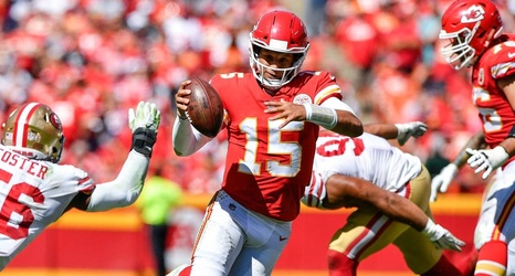 cheap for discount bc272 dd498 Chiefs will wear 'Color Rush' uniforms for Sunday's game ...