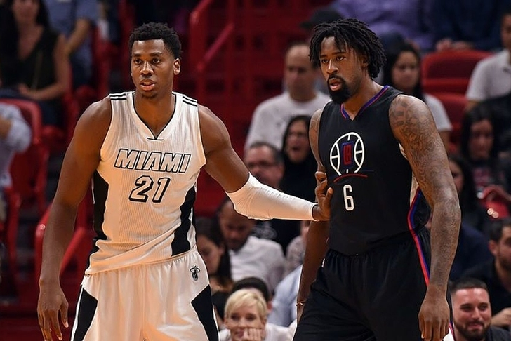 Raptors have discussed DeAndre Jordan trade