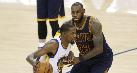 d092f512340d Durant makes his mark in Game 1 of NBA Finals for Warriors