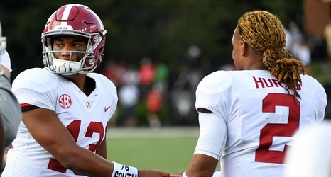 Alabama Starting Lineup >> While It Appears Starting Job Has Changed Hands Alabama Needs Jalen