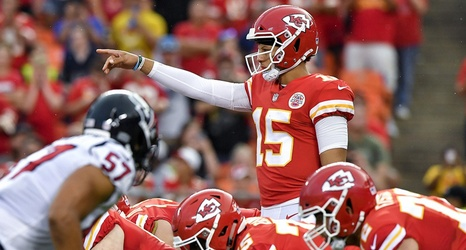 Learning Curve For Chiefs Patrick Mahomes Was Sped Up By