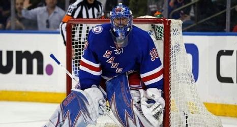Rangers Henrik Lundqvist Rick Nash Sidelined