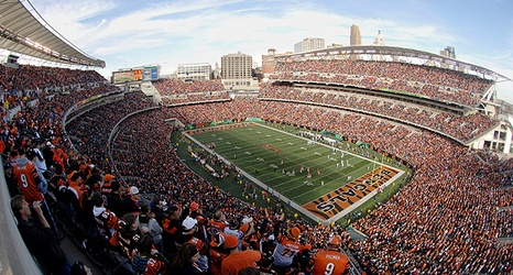 a day at paul brown stadium