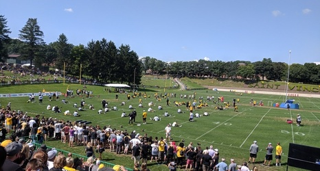 e48e2542d 2018 Steelers Training Camp Diary  Day 13