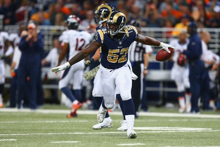 Rams RB Todd Gurley is not happy about the Alec Ogletree trade