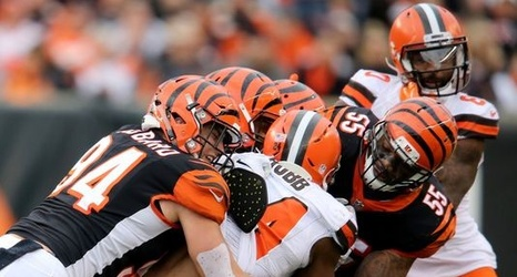 info for dad68 cf056 Cincinnati Bengals live: Browns take second-quarter lead