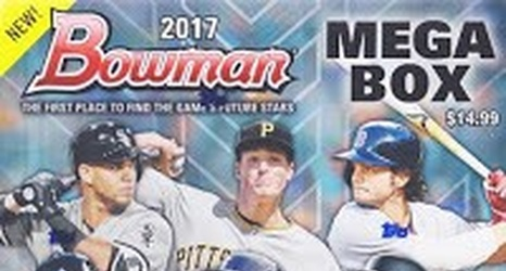 2017 Bowman Mega Box Chrome All The Dodgers Cards