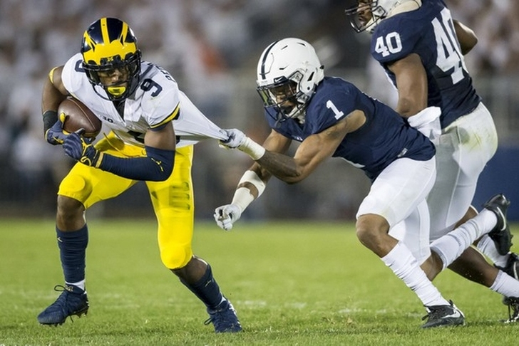 Trace McSorley leaves game with apparent leg injury