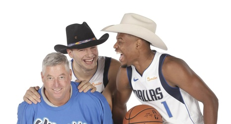 online store e333e 8e167 Luka Doncic and Dennis Smith Jr. are friends and it's the best