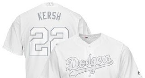 And Look A Weekend Nicknames Dodger Uni's At Players