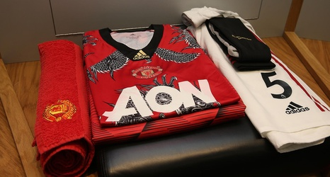Inside The Dressing Room Ahead Of Manchester United V Norwich