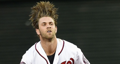 Nationals Bryce Harper Yankees Prospect Clint Fraziers Budding Friendship Continues With Twitter Conversation About Hair