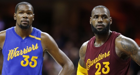 801850e4cd0 Cavaliers vs Warriors  2017 NBA Finals Schedule And Odds
