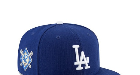 Dodgers News  MLB Unveils 2018 Specialty Caps And Gear For Jackie Robinson  Day 734dc40c0bc