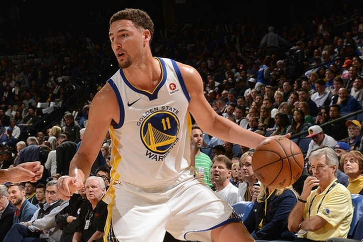 Klay Thompson Has a Fractured Thumb