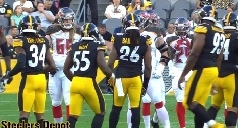 the latest e3840 44d23 Mike Tomlin Saw 'Good Signs' In Devin Bush Debut, 'Liked His ...