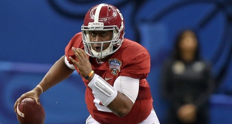 new product 66634 17e0c Former Alabama QB Blake Sims joins Falcons' practice squad ...