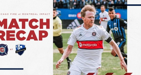 online store 2487c c35ff Chicago Fire Soccer Club Falls 1-0 to Montreal Impact at ...
