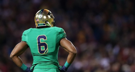 02ffb788151 There Is A Rumor That Notre Dame Will Wear Green Jerseys Against Florida  State