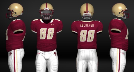 cheap for discount efe39 a73c5 NCAA Football 12: Top Five Boston College Football Uniform ...