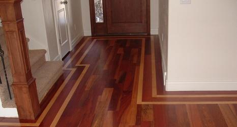 Brazilian Cherry Acacia Hardwood Flooring