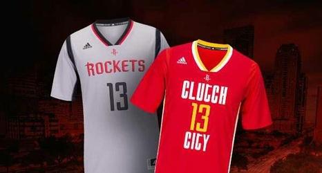 faf2538a29b FINALLY! Rockets unveil black alternate jersey for 2016-17 season