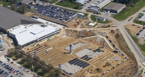 Check Out The Progress On Uk Football S New Practice Facility