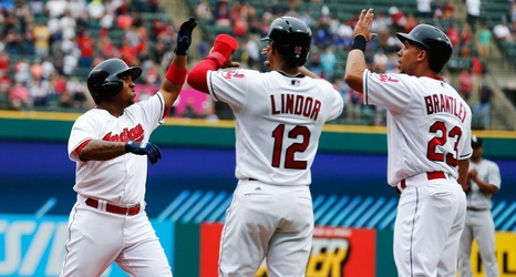 midseason report cards the indians lead a dreary al central race