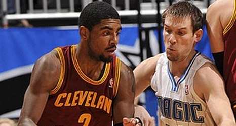 Kyrie Irving has a fractured left