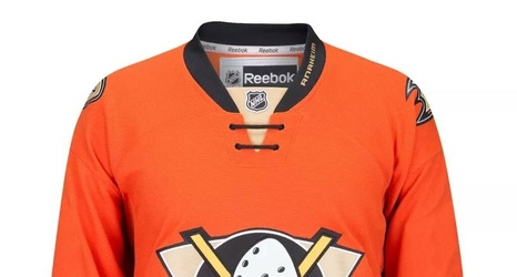 info for 21168 f626b It's Official: Anaheim Ducks New 2015-16 Third Jersey Leaks