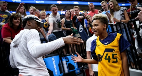 dc3937b589e Donovan Mitchell restoring culture of Utah Jazz basketball with busy  offseason