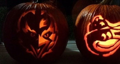 Carve An Orioles And Or Ravens Pumpkin With These Stencils