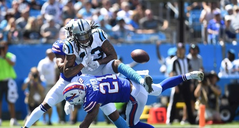 reputable site 236be f2db8 Kelvin Benjamin to wear number 13 for the Buffalo Bills