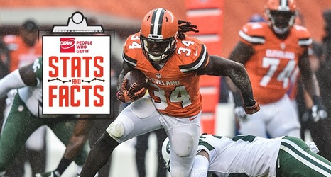 best sneakers d4e35 6b92f Stats and Facts: Browns vs. Jets