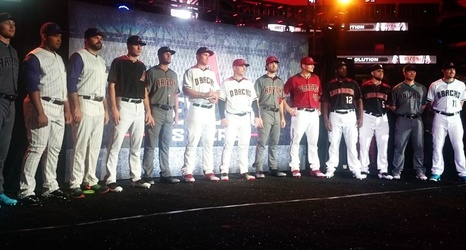 watch 4c72d a4085 Arizona Diamondbacks announce new uniforms