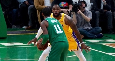 a721b6e6522 Lakers Vs. Celtics Preview   TV Info  LeBron James Playing Reduced Minutes