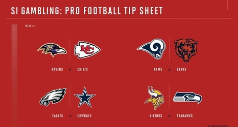 Weekly Tip Sheet The Complete Printable Betting Guide To Nfl Week 14 Games