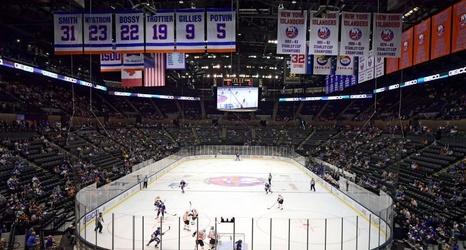 Islanders' home opener vs  Capitals will be at Nassau