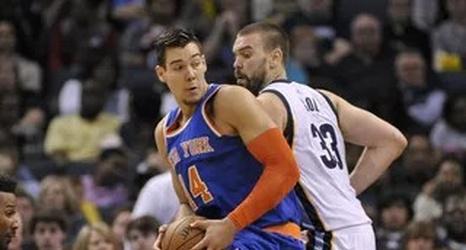 Is Willy Hernangomez already the best GM in the Knicks