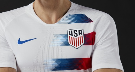c2865920d7c U.S. Soccer unveils 2018 uniforms for USMNT and USWNT