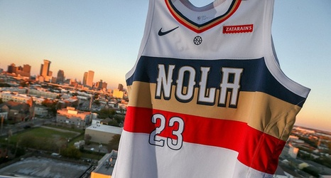 7ef26f1a53a8 New Orleans Pelicans unveil Nike NBA Earned Edition uniform