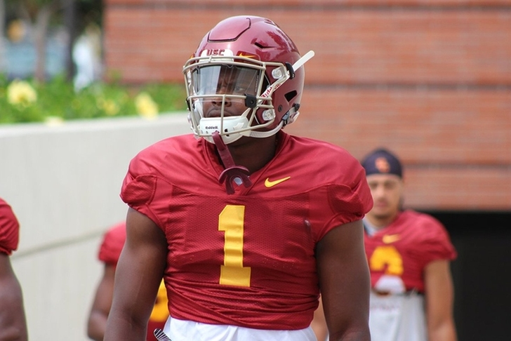USC suspends sophomore five-star wideout after domestic violence arrest