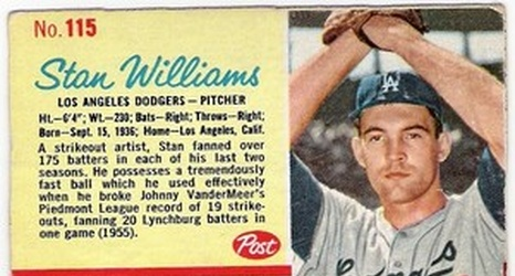 Along With A 1951 Topps Blue Back